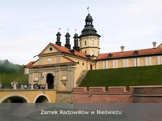 Zamek Radziwiłłów w Nieświeżu