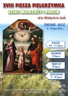XVIII Piesza Pielgrzymka Dzieci, M�odzie�y i Rodzin