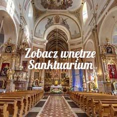 Spacer wirtualny w Sanktuarium Św. Józefa w Kaliszu