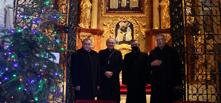 Bp Damian Bryl zawierzył swoją posługę św. Józefowi