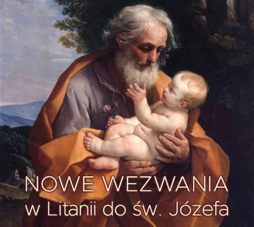Nowe wezwania w Litanii do św. Józefa
